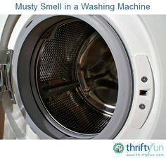 how to clean front loader washing machine that smells