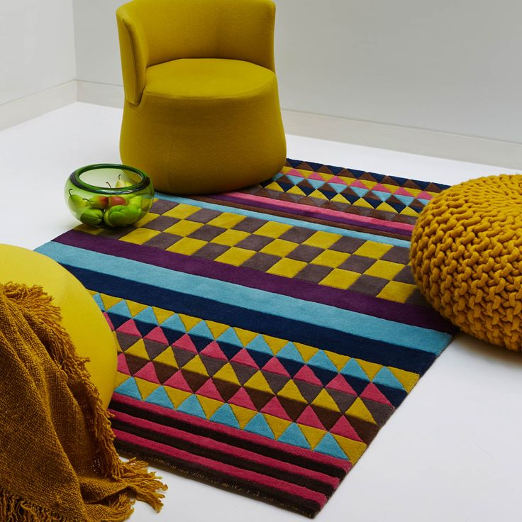 Origins Rugs Are Handmade With A Mixture Of Bold Colours And Geometric Patterns To Create This Statement Rug For Any Room