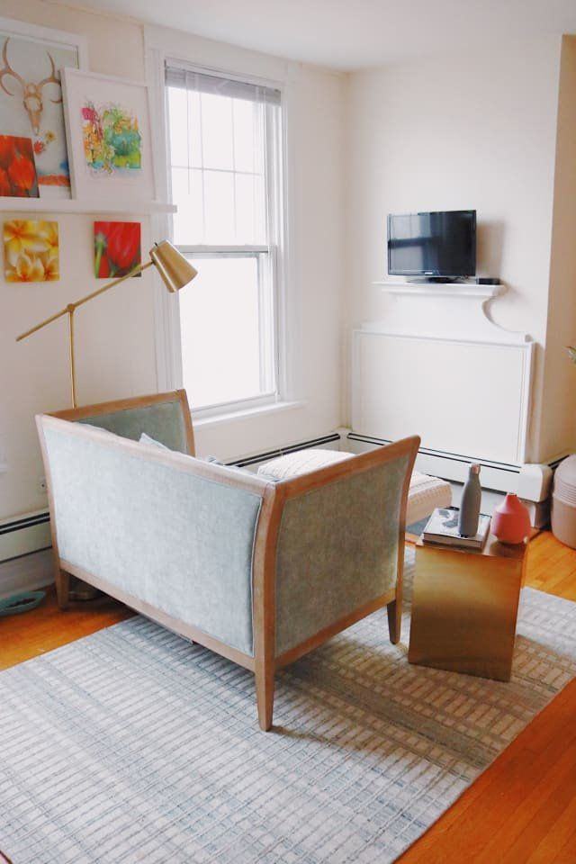 a 300 square foot apartment is small but personal and artistic rh pinterest com