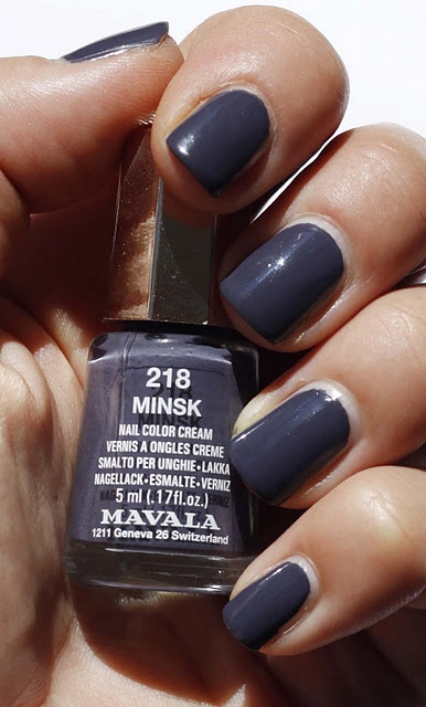 Mavala Minsk. How superb autumn color, or what do you think?
