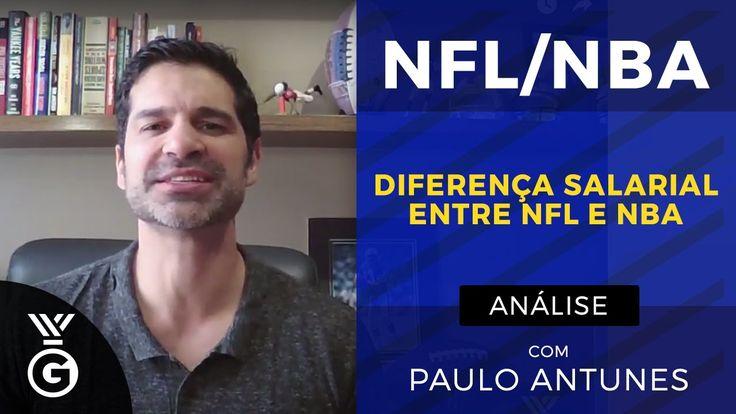 Jogadores da NFL reclamam dos salários dos atletas da NBA! Paulo Antunes...