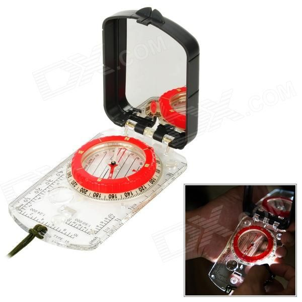Naturehike ZNZ09 Flip-Open Glow-in-the-Dark Compass
