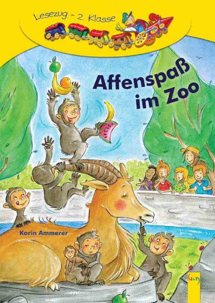 Lesezug 2. Klasse: Affenspaß im Zoo