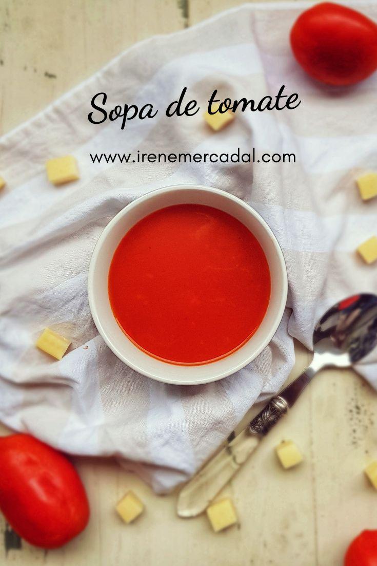 Esta sopa de tomates es tan deliciosa y facil de hacer que será tu favorita ¿Quieres ver la receta? #recetadecocina #recetafacil #recetadeliciosa Red Vegetables, Irene, Cantaloupe, Fruit, Mini, Recipes, Food, Fitness, Gourmet