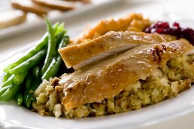 This cranberry turkey recipe is a slow cooker dream with 3 ingredients: Roasted Brined Turkey Breast