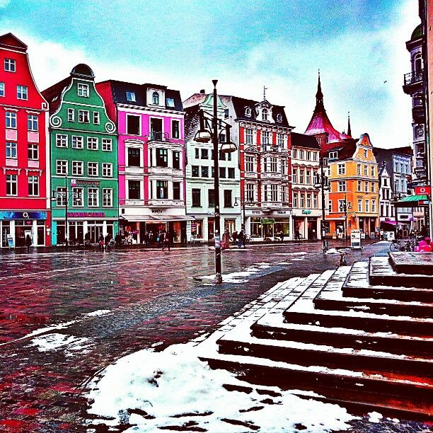 Rostock, Germany. I think a Germany trip is on the cards. Six weeks of wandering. Yes, please!