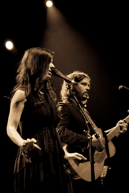"""The Civil Wars- I feel like they swallowed Woody Gutherie, EmmyLou Harris, and Johnny Cash and a dash of """"Old time religion"""" and are creating something amazing and current."""