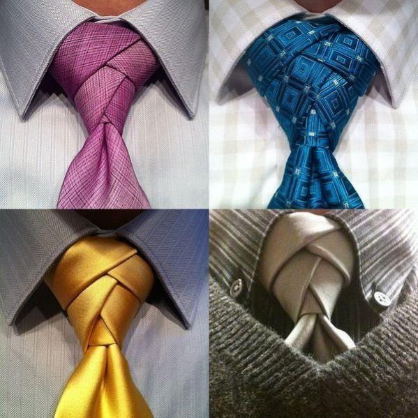 Очень красивые галстучные узлы / Мужская мода / Модный сайт о стильной переделке одежды и интерьера