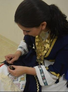 Handmade Greek folk costumes