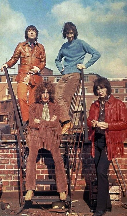The Who, 1968, man I'm in love with Pete Townsend