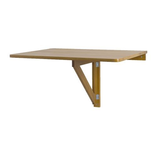 IKEA   NORBO, Wall Mounted Drop Leaf Table, You Save Space When The Table  Is Not Being Used As It Can Be Folded Away.