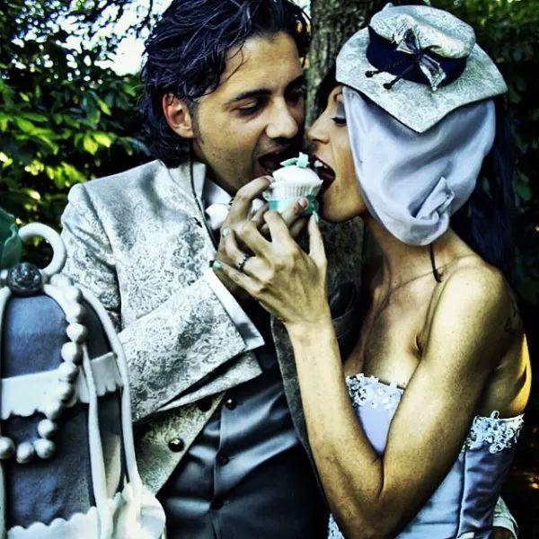 torte di nozze: cupcakes