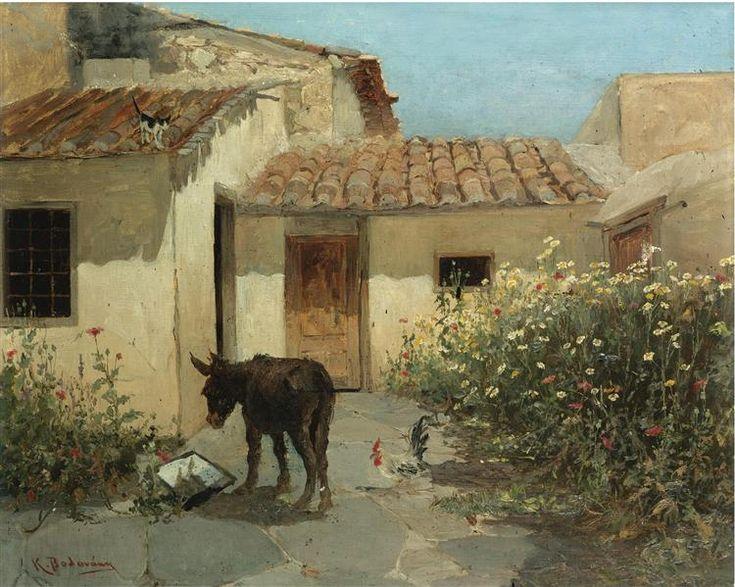 In the garden - Volanakis Konstantinos