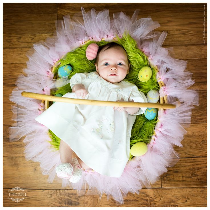 Baby's Girl's First Easter Basket