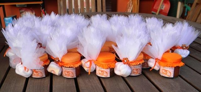 Un'idea carina per le bomboniere, da declinare in stile più #country