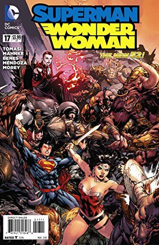 Superman Wonder Woman #17 @ niftywarehouse.com #NiftyWarehouse #DC #Comics #ComicBooks #WonderWoman #SuperHeroes