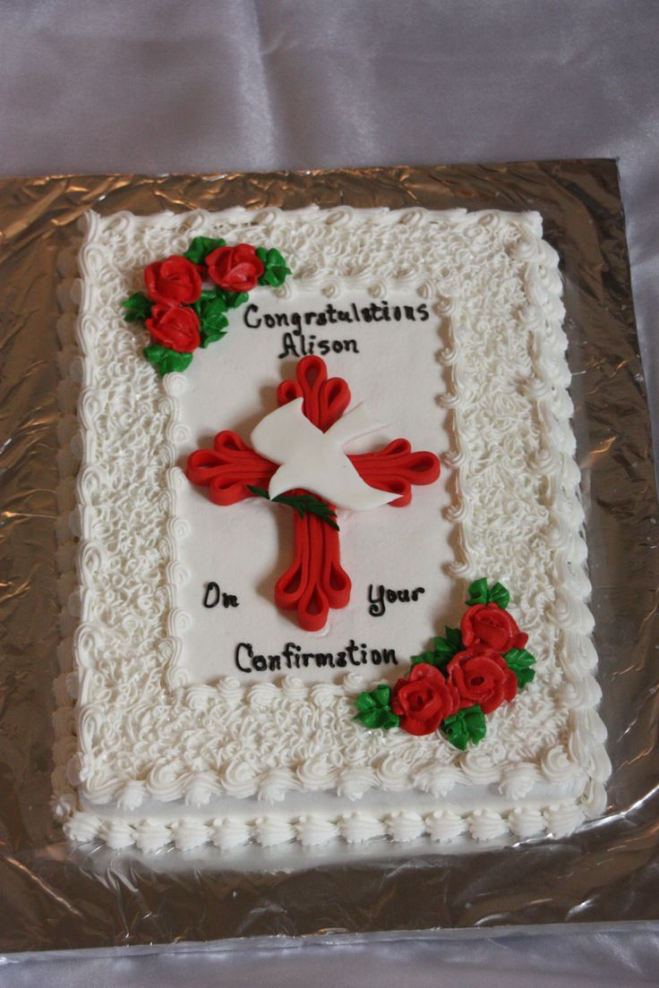 1000+ images about Cakes: Confirmation & 1st Communion ...
