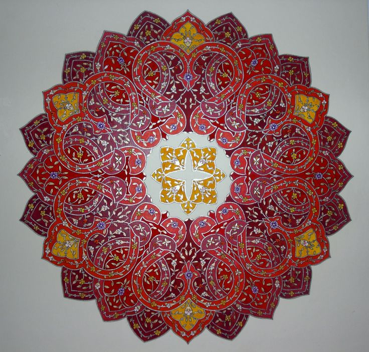 Persian Illuminations (Tazhib) artwork by Mojgan Lisar
