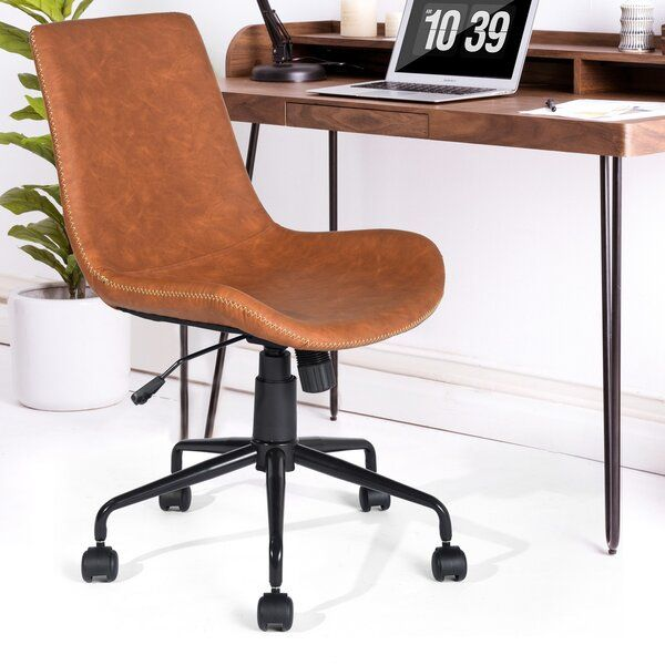 Inessa Task Chair In 2020 Stylish Office Chairs Task Chair Comfortable Computer Chair