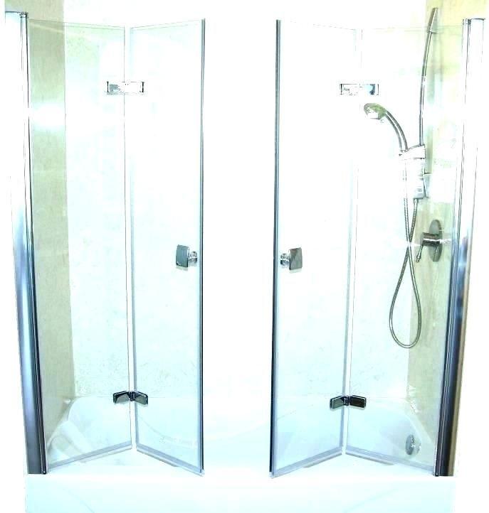 Google Image Result For Http Lunahomedecor Co Wp Content Uploads 2019 04 Shower Doors Bifold Folding In 2020 Bifold Shower Door Tub Shower Doors Glass Tub Enclosure