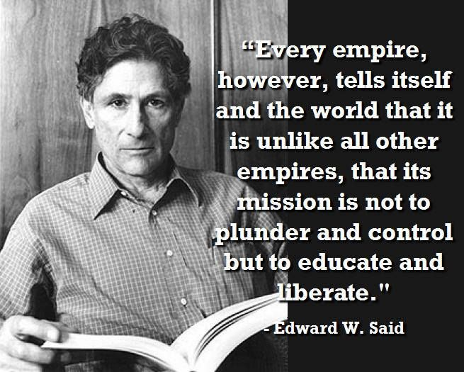 edward w. said on colonialism and post-colonialism essay This prezi explores postcolonial criticism and edward said and details three chapters in  comprised much of this thesis about colonialism  edward w said,.