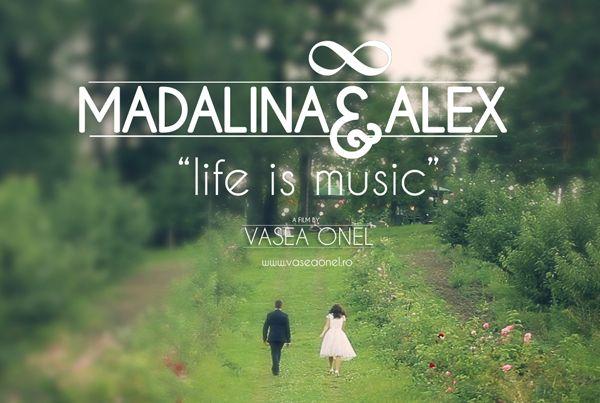 "Madalina & Alex – ""life is music"" – wedding highlights"