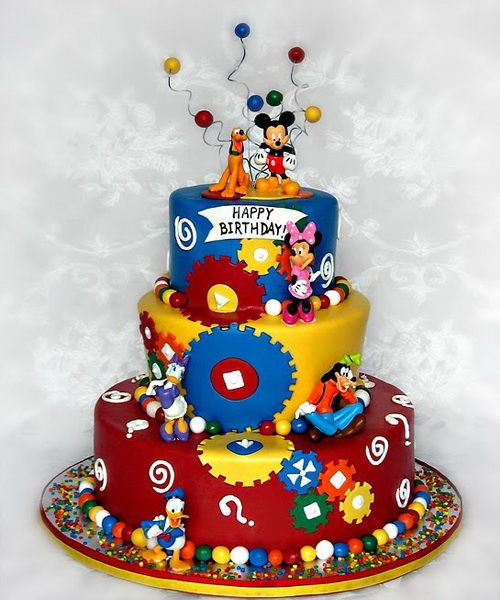 Pin Celebres Walt Disney Cake Ideas And Designs On