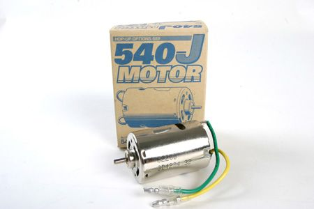 RC Motor 27T Brushed 540 (Item #53689)