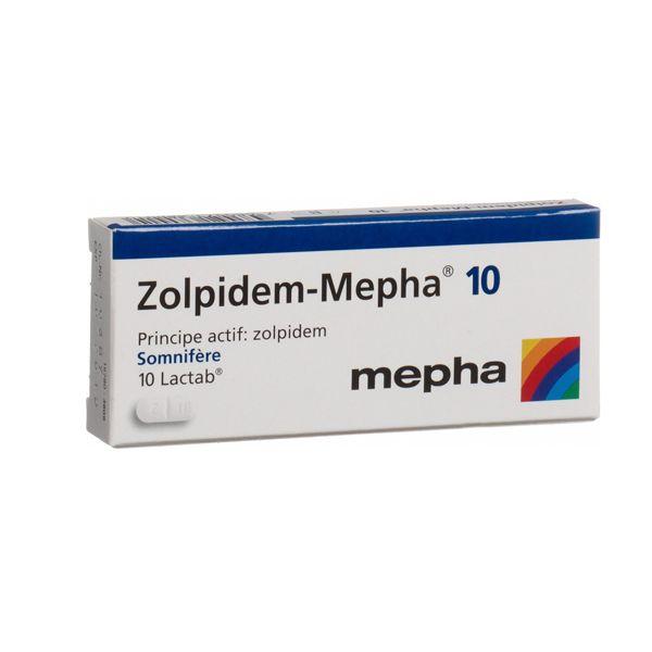 zolpidem 10 mg caja