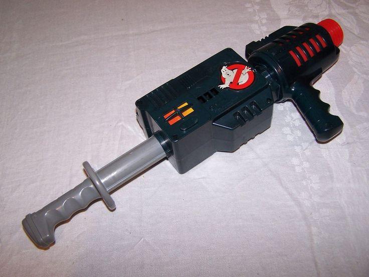 Vintage Kenner Ghostbusters Popper Proton Nerf Gun Works
