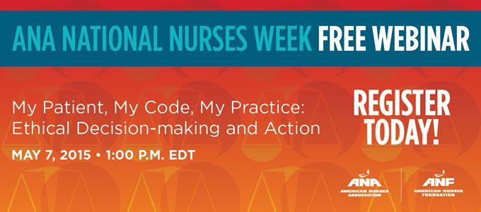 National Nurses Week 2015 Banner