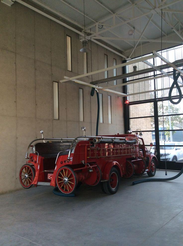 Nueva sala de máquinas Cuartel 5ta Cía CBÑ diseñada por www.espiralarquitectos.com