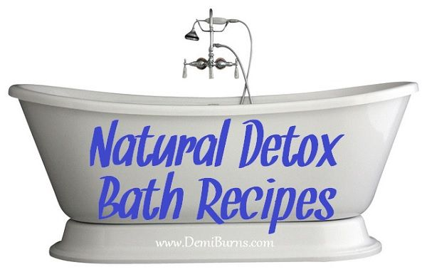 If you can't afford detox baths and wraps at the spa on a regular basis, why not do it yourself at home for a fraction of the cost! Here are 7 recipes to get you started!