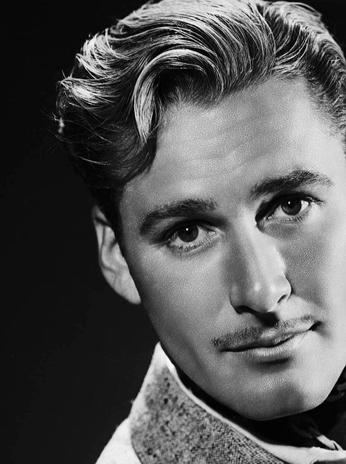 Errol Flynn - a handsome Aussie
