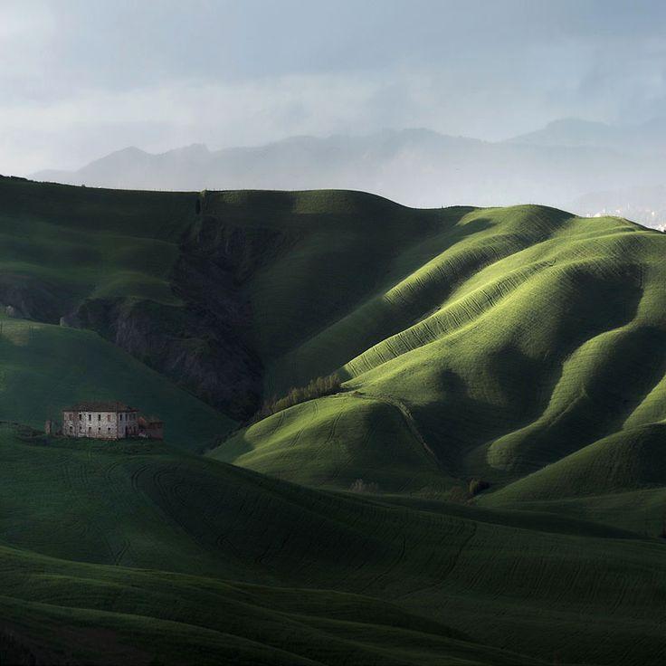 Marcin sacha Tuscany landscape