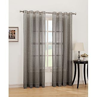 Simply Window Nora Grommet Curtain Panel - Linen - For the Home - Window Coverings & Hardware - Drapes & Panels