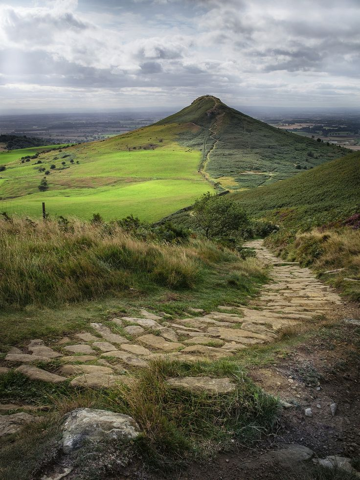 """wanderthewood: """"Roseberry Topping, North Yorkshire, England by adriantilbrook """""""