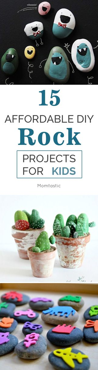 I found amazing DIY rock projects that will rock your rock-loving kid's world. You probably have most of the materials at home for these awesome rock projects for kids.