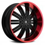 : pink and black rims for sale