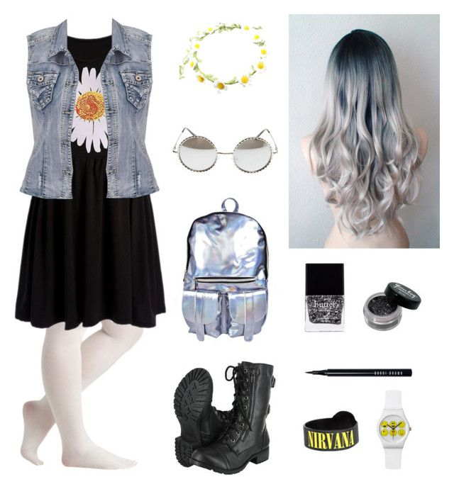 """""""Plus Size- grunge/punk"""" by eden-anarchy on Polyvore"""