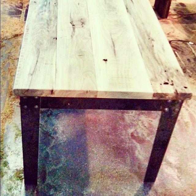 Mesa ratona para living #muebles #diseño #vintage #reciclado ...