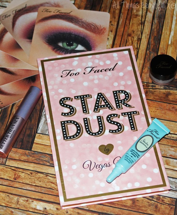 Too Faced Stardust Palette & Kit from Vegas Nay