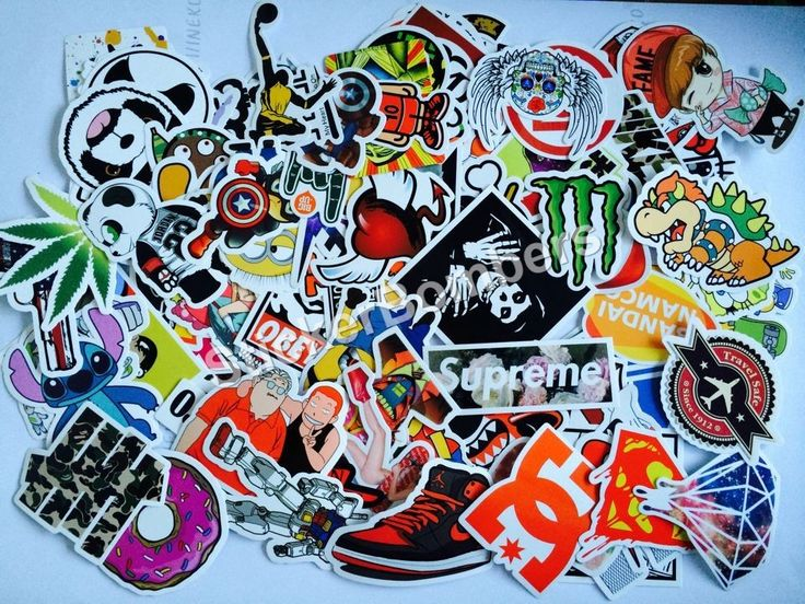 500 stickerbomb stickers for £45 free express pp to uk