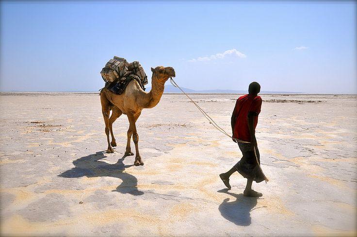 Ethiopia-Dancalia-salt desert