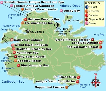 Hotels In St Johns Antigua