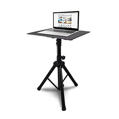 Pyle Laptop Projector Stand, Heavy Duty Tripod Height Adjustable 28'' To 46'' For DJ Presentations Notebook Computer - http://djequipment.nationalsales.com/pyle-laptop-projector-stand-heavy-duty-tripod-height-adjustable-28-to-46-for-dj-presentations-notebook-computer/
