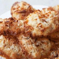 Coconut Tuiles: Coconut Cookies, Sweet, Coconut Tuiles, Dessert ...