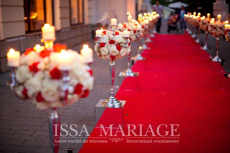 decoratiuni nunta rusescu valcea issamariage aranjamente florale pe sfesnice