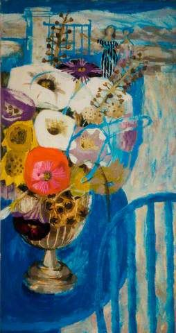 Mary Fedden - Flowers in Tuscany