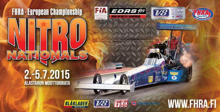 Nitro Nationals 2015 - Alastaron Moottorirata, Virttaa - 2. - 5.7.2015 - Tiketti
